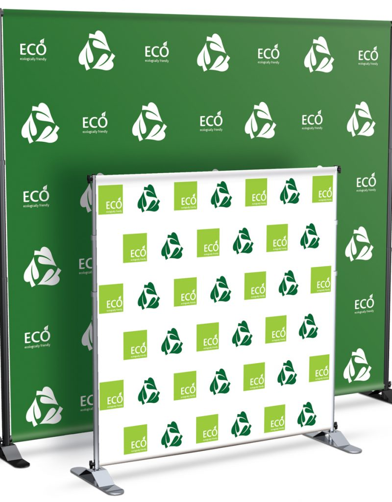 Tradeshow Backdrop Printing Step and Repeat