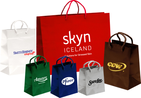 Promotional Shopping Bags, Paper, Laminated