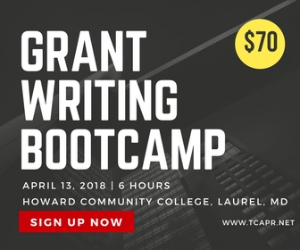 Grant Writing classes at Laurel Community College and Prince Georges Community College