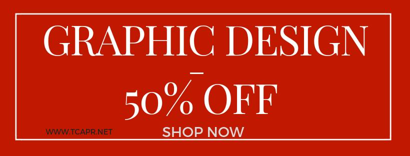 Graphic Design 50% off